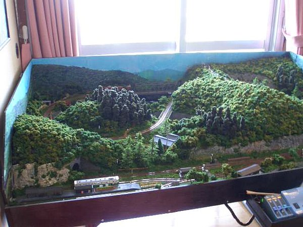 鉄道模型レイアウト紹介3-1.ローカル線ジオラマ/■鉄道模型 敷き