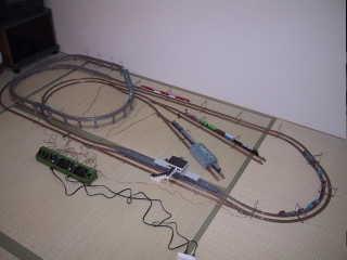 お座敷レイアウト(鉄道模型Nゲージ)
