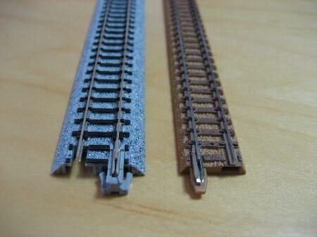 鉄道模型の道床(鉄道模型Nゲージ)