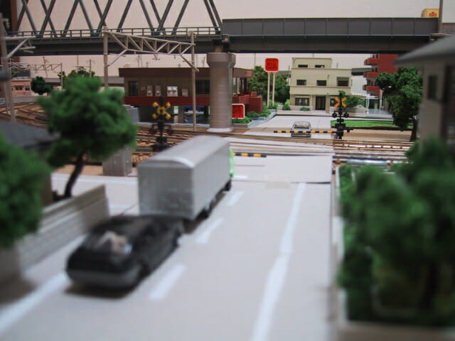 鉄道模型の踏切