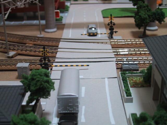鉄道模型グリーンマックスの踏切