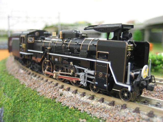 C57-1形蒸気機関車(SLやまぐち号)