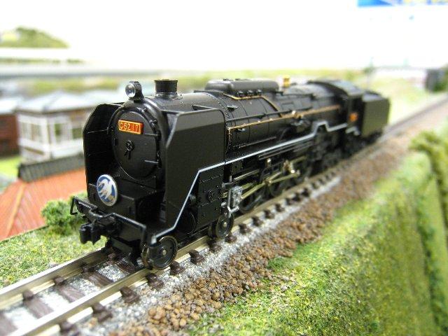 C62東海道形蒸気機関車