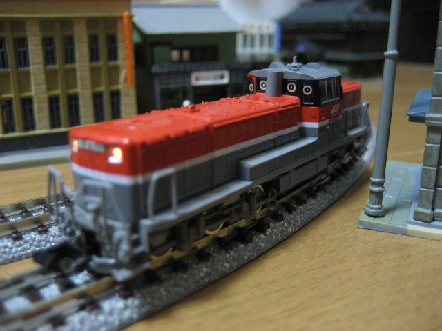 DE10形ディーゼル機関車(JR貨物新更新車)
