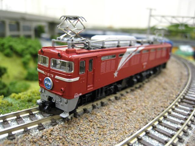 EF81形電気機関車(北斗星カラー)