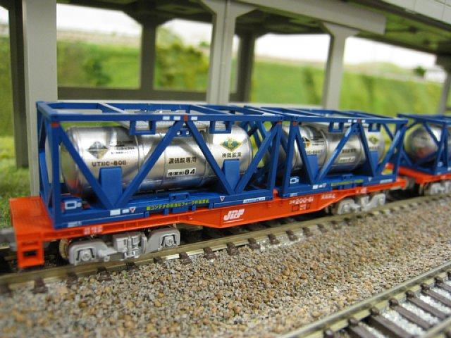 コキ200 UT11C「神岡鉱業」積載