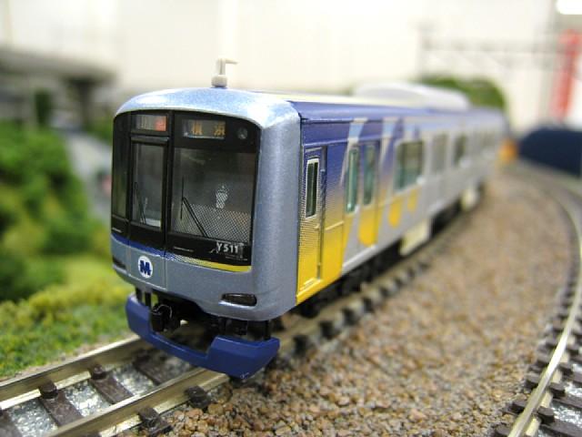 横浜みなとみらい線Y500系