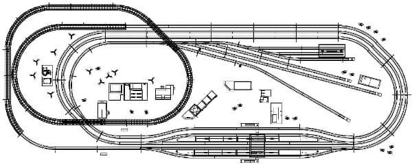 鉄道模型Myレイアウト