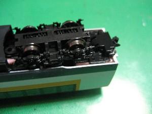 マイクロエース新動力車のカプラー交換