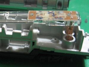 Nゲージの鉄道模型に室内灯を取り付ける
