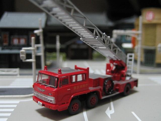 はしご消防自動車