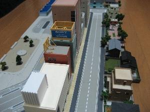 KATOジオタウン駅前道路+ストラクチャー