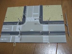 KATOジオタウン道路プレートの収納方法